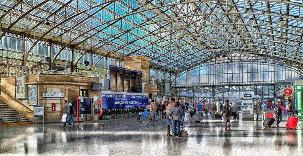 Aberdeen rail station